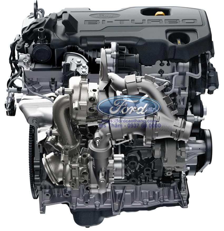 Động cơ bi-turbo 2.0 trên Ford Ranger Raptor 2019