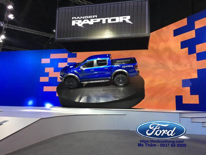 Thân xe Ford Ranger Raptor 2019