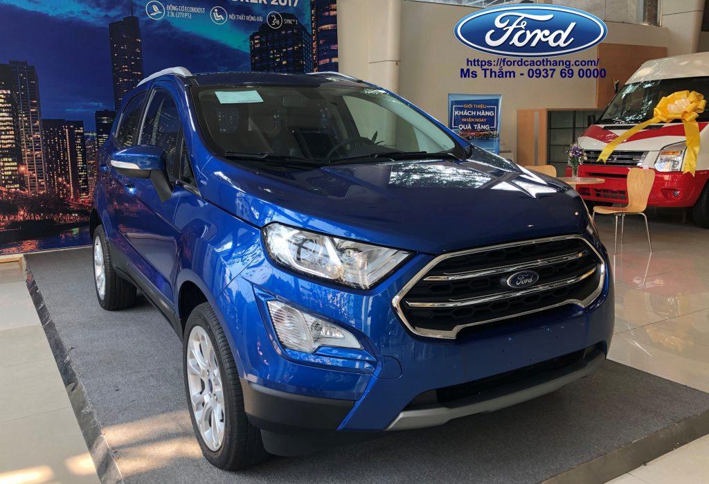 Giá xe Ford Ecosport rẻ nhất