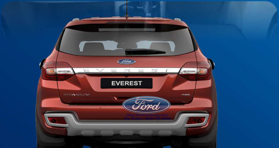 duoi xe Ford Everest 2019