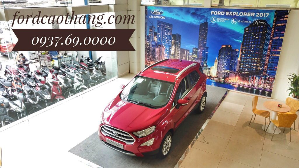 Xe Ford Ecosport 2019