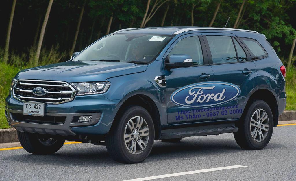 Ford Everest 2019 hoàn toàn mới