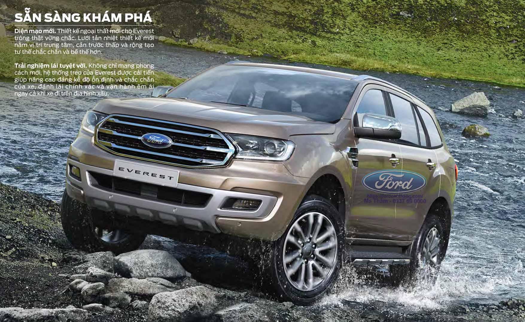 gia xe Ford Everest 2019 khuyen mai