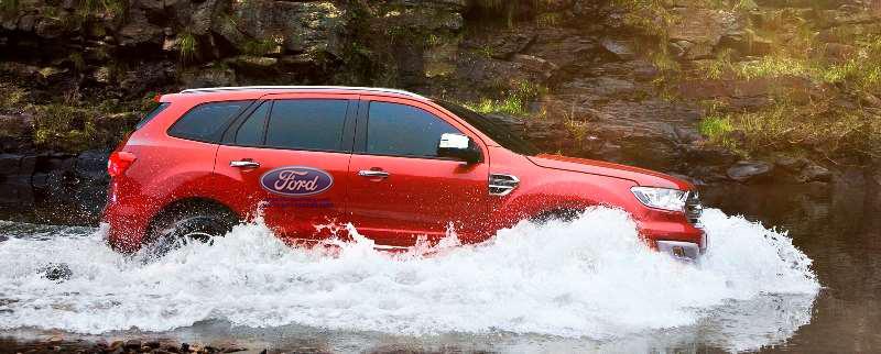 Khả năng lội nước Ford Everest 2019