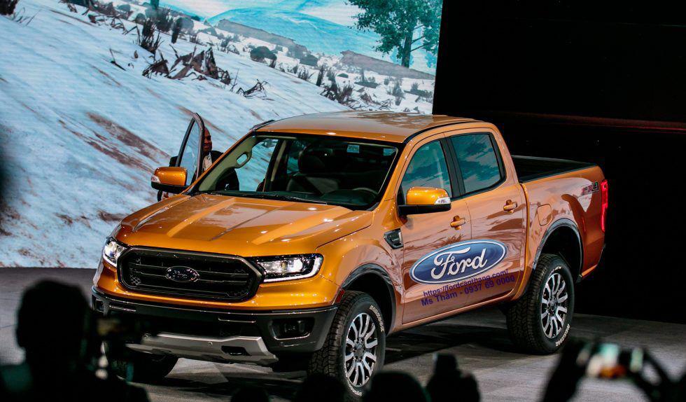 Ford Ranger 2019 ra mắt