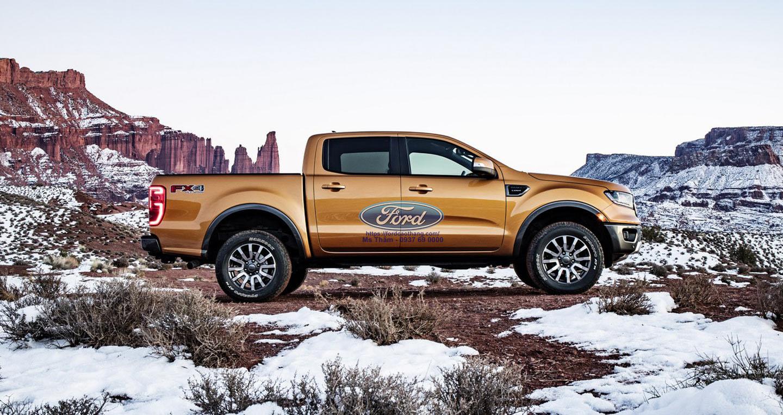 Giá xe Ford Ranger 2019