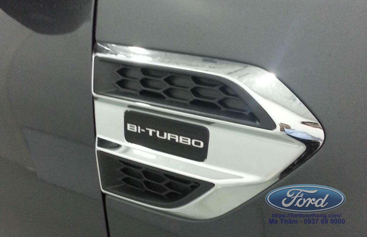 Ranger 2019 sử dụng động cơ Bi - Turbo mới