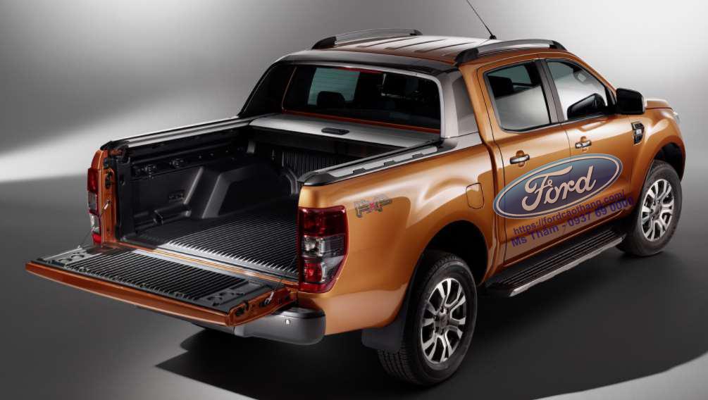 thùng xe Ford Ranger 2019