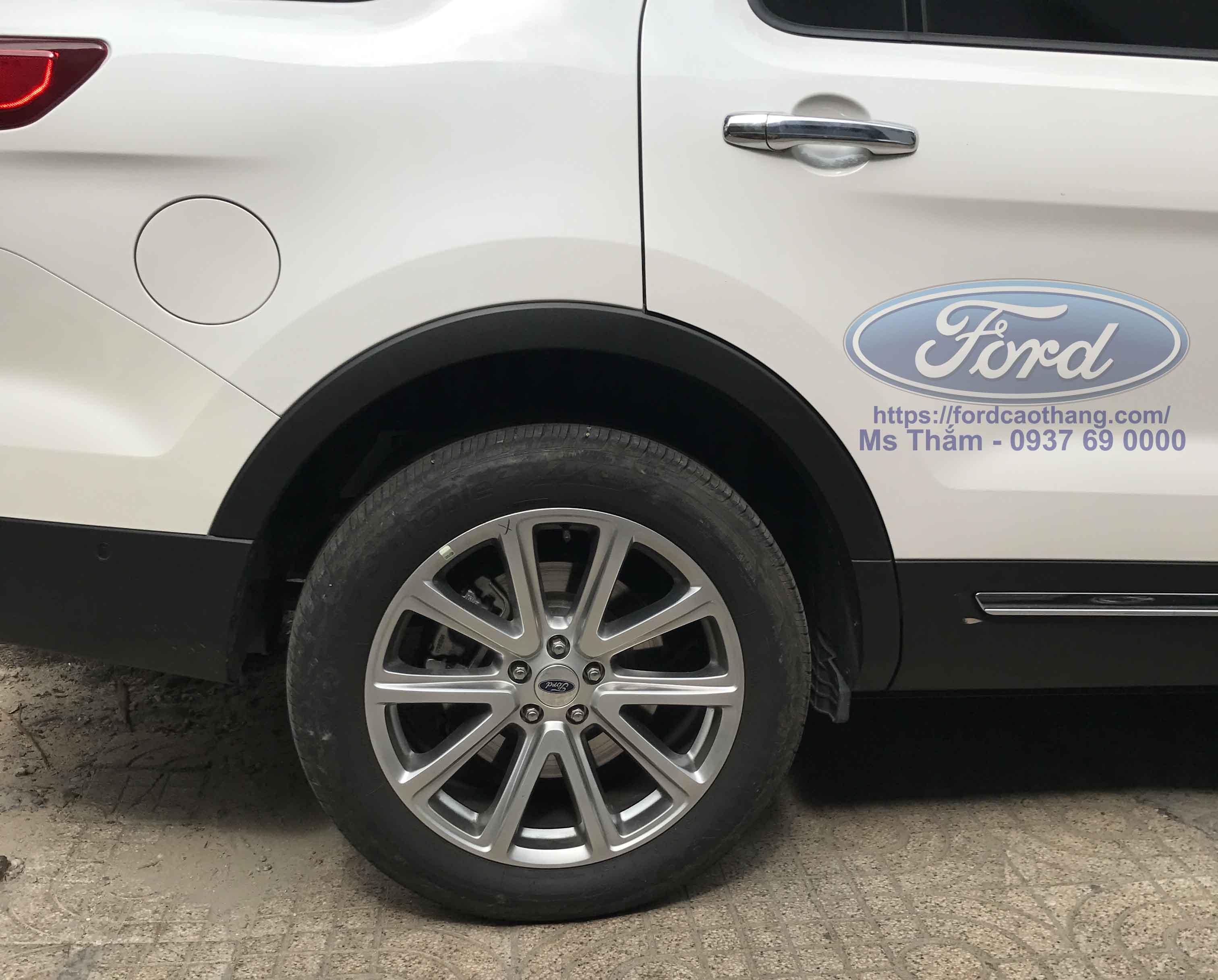Mâm hợp kim Ford Explorer 2019