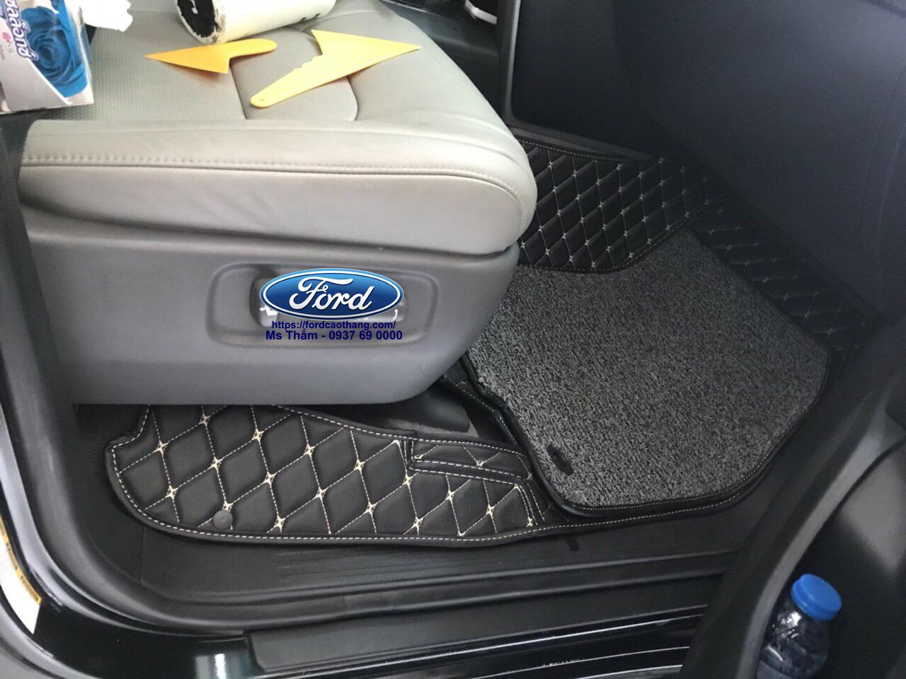 Thảm lót sàn 6D cho Ford Ranger