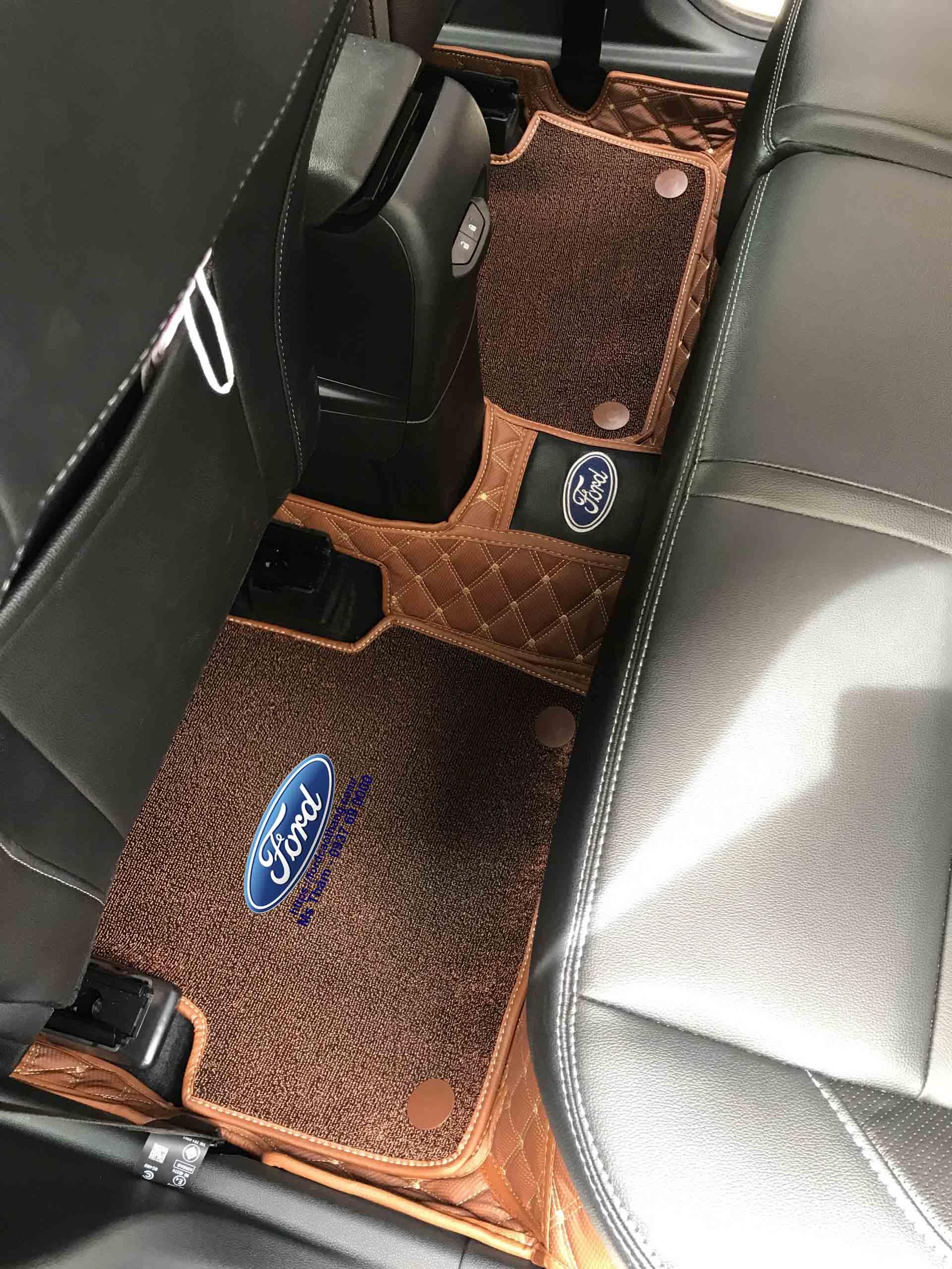 Thảm Lót sàn 6D theo xe