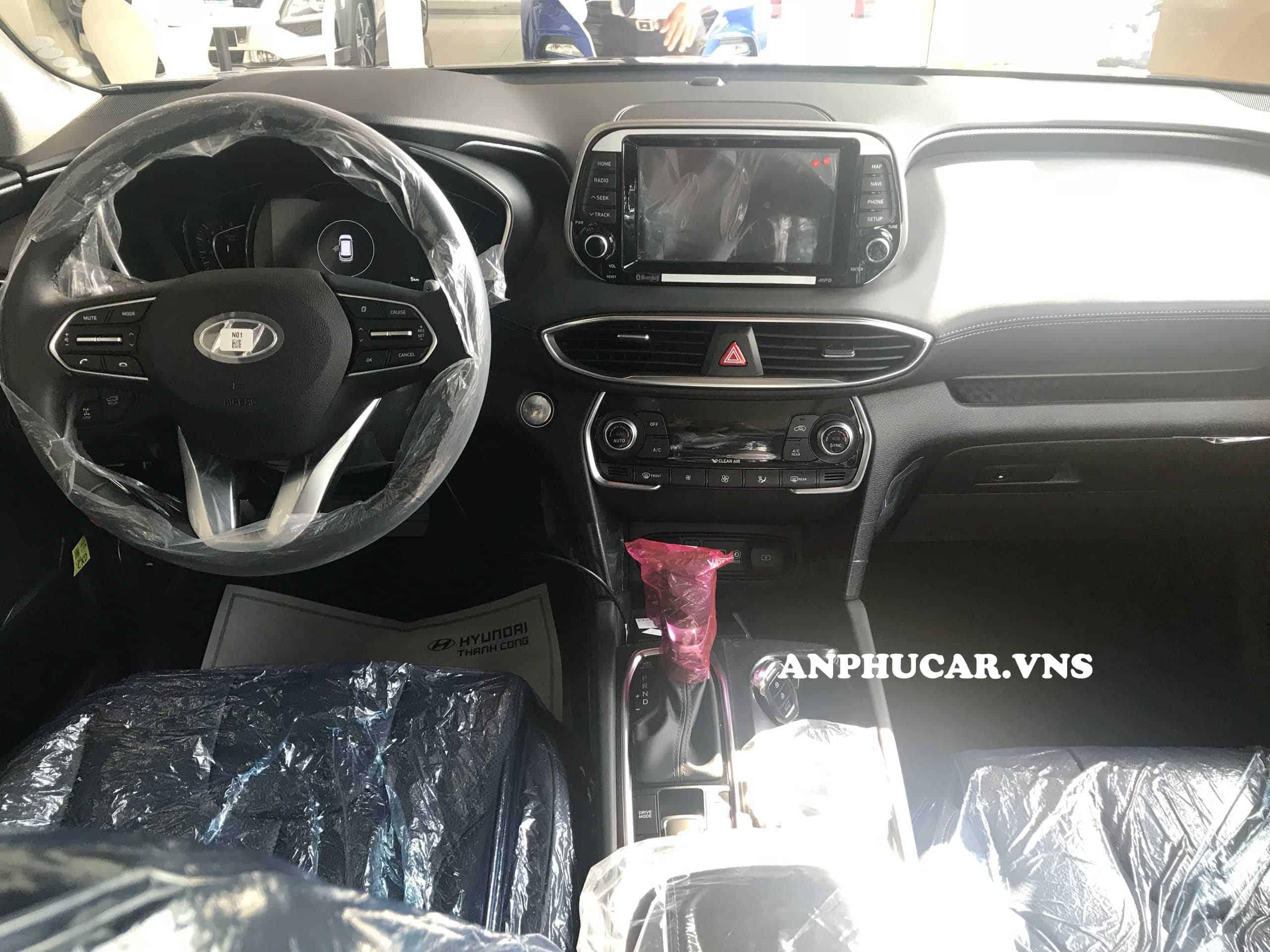 Nội thất Hyundai Santafe 2019