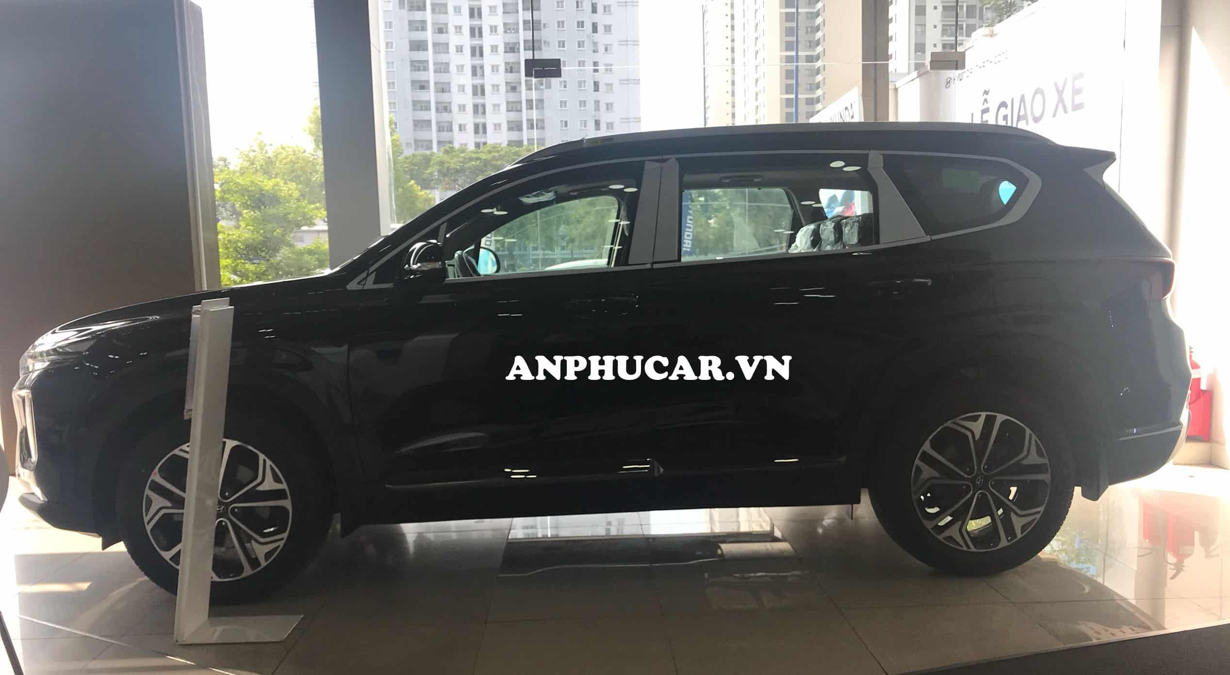 Thân xe Hyundai Santafe 2019