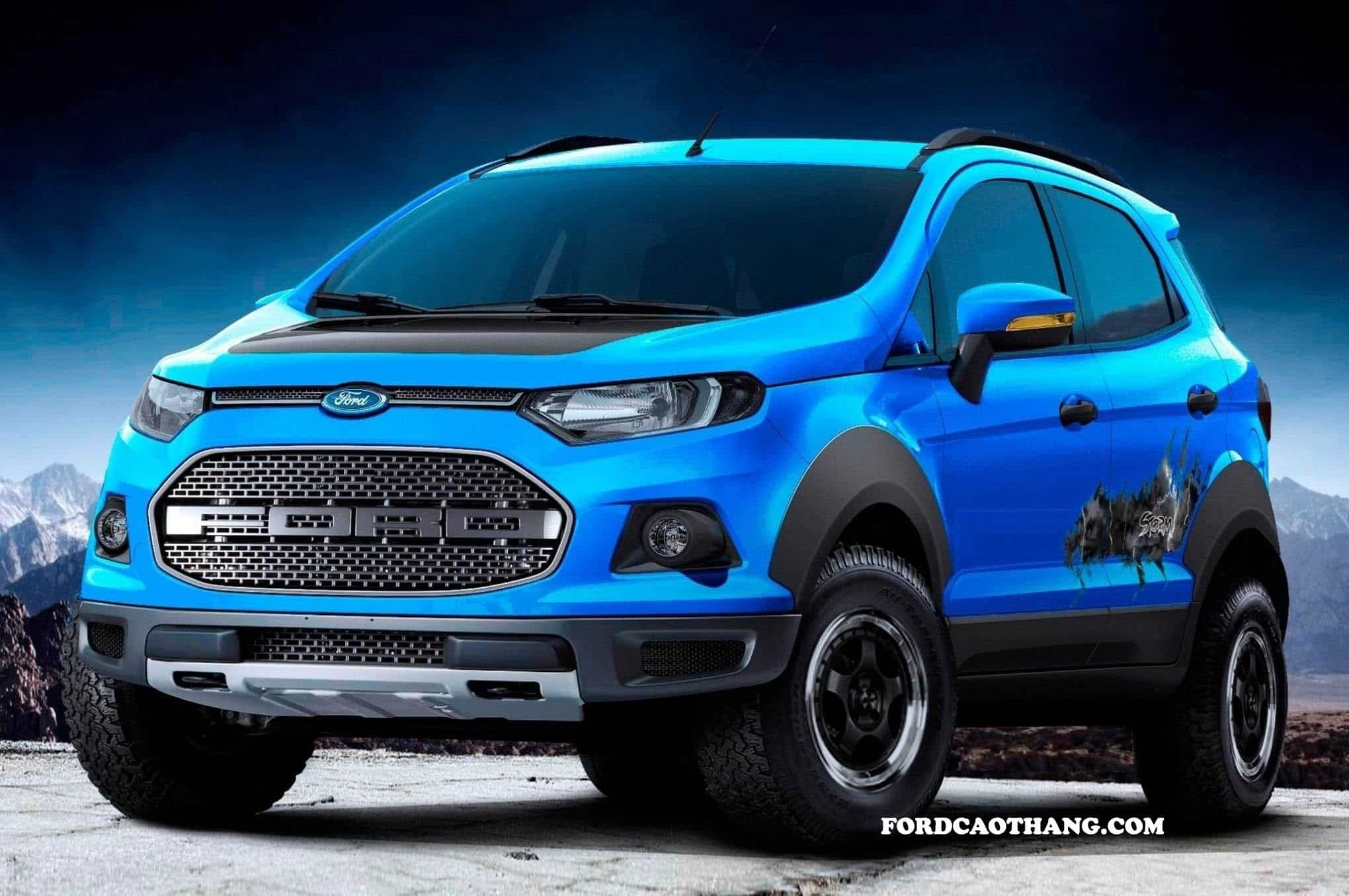Ford Ecosport 2020 giá xe