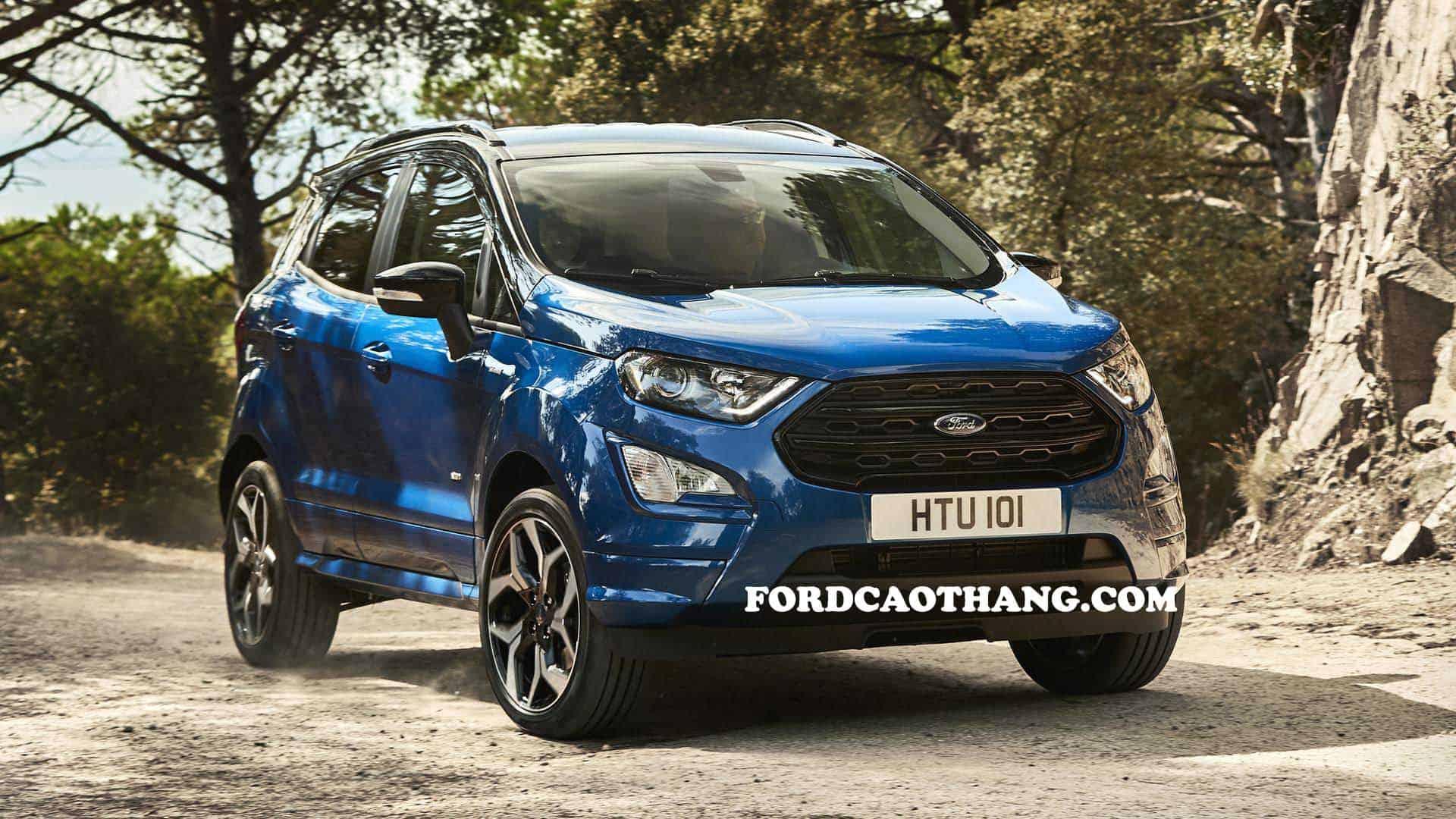 Ford Ecosport 2020 ra mắt