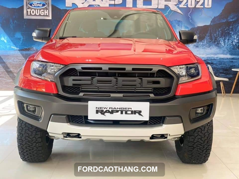 Ford Ranger Raptor 2020 do