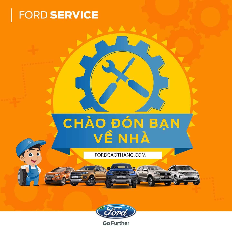 Dịch vụ bảo dưỡng xe Ford Everest