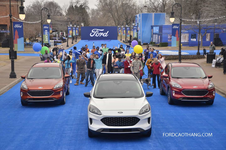 Ford Escape 2020 có về Việt Nam