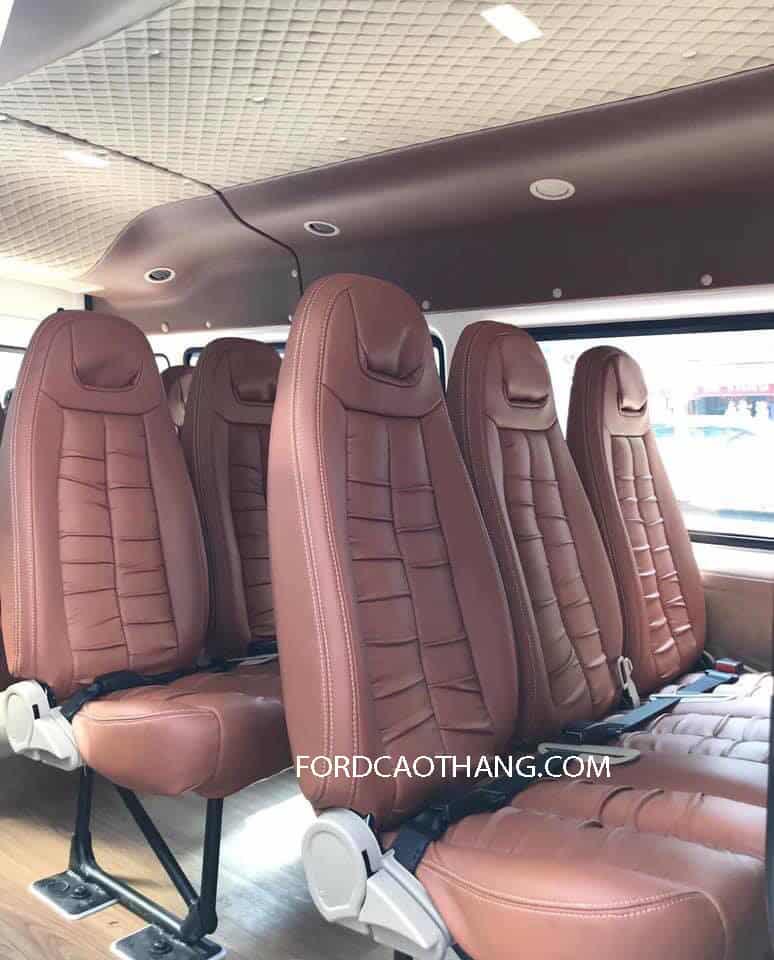 Ghế xe Ford Transit 16 chỗ