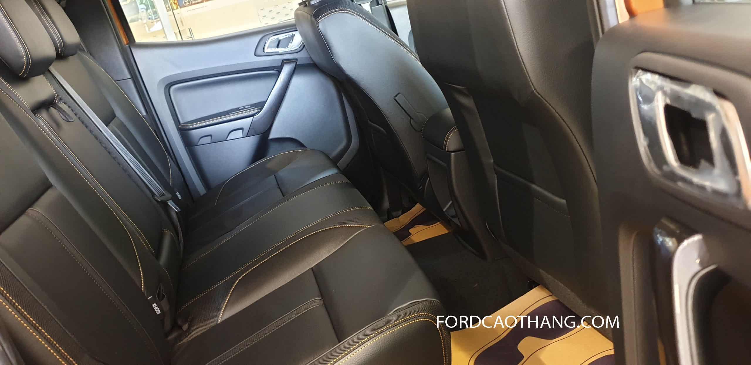 Nội thất Ford Ranger 2020