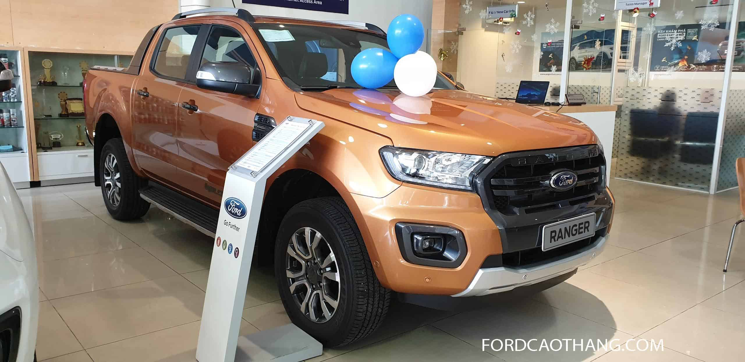 Thiết kế xe Ford Ranger 2020