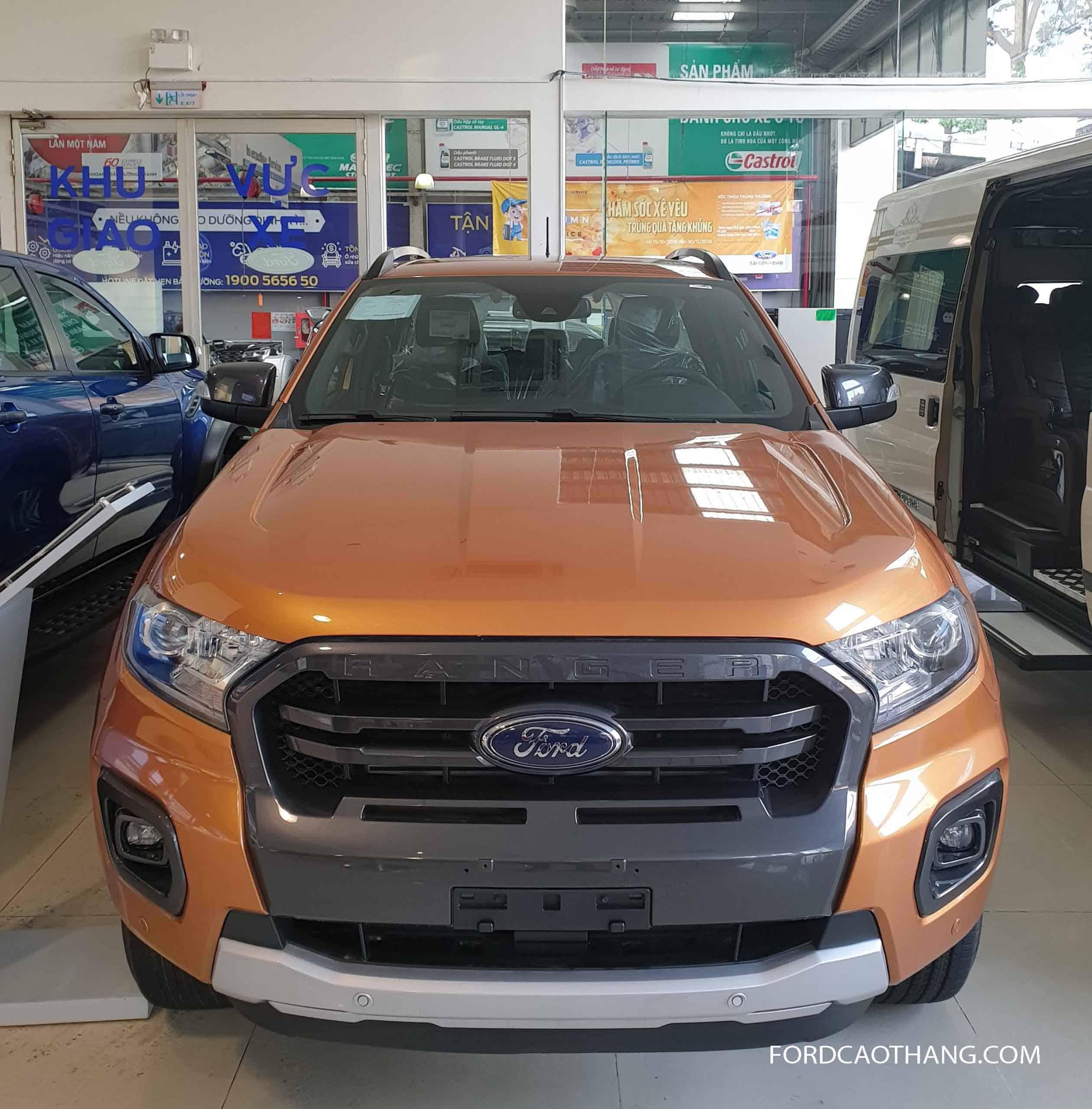 Xe Ford Ranger 2020