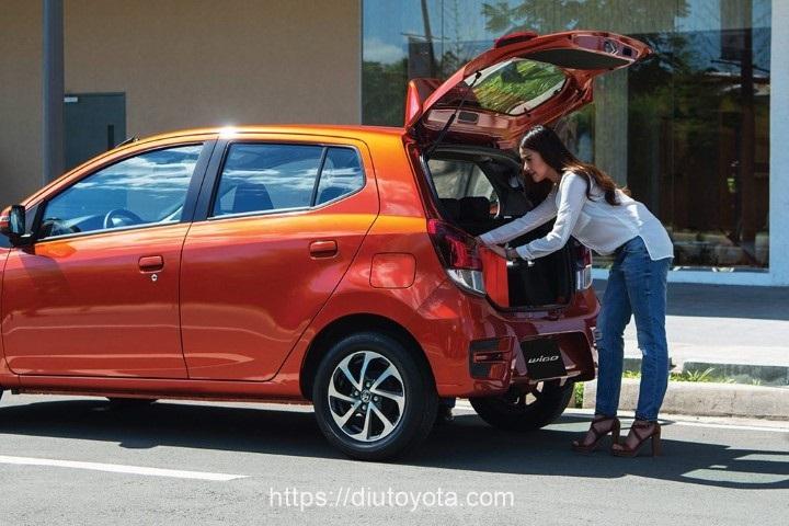 Toyota Wigo 2020 cop xe