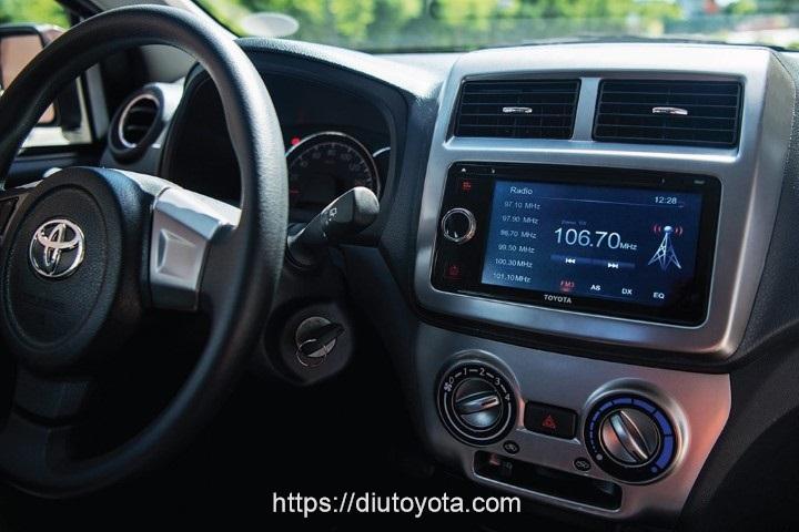Toyota Wigo 2020 dvd