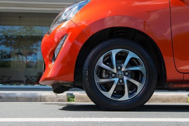 Toyota Wigo 2020 mam xe