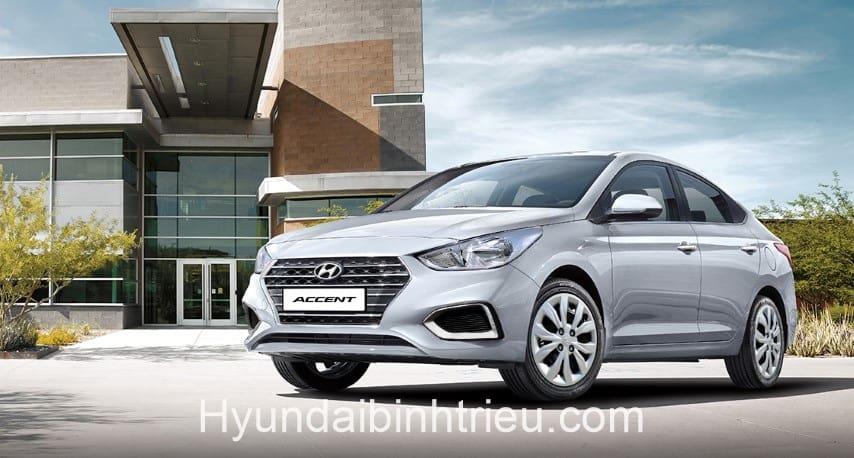 Xe Hyundai Accent 2020 Mau Bac