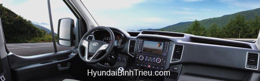 Xe Hyundai Solati 2020 Noi That