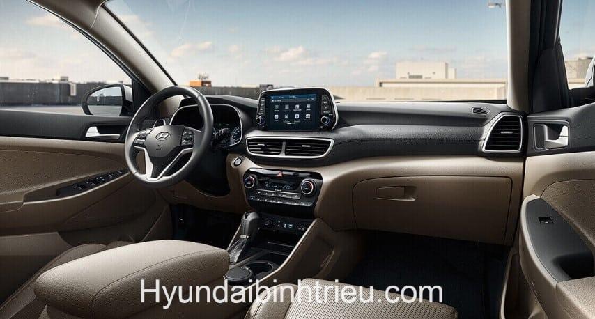Xe Hyundai Tucson 2020 Noi That