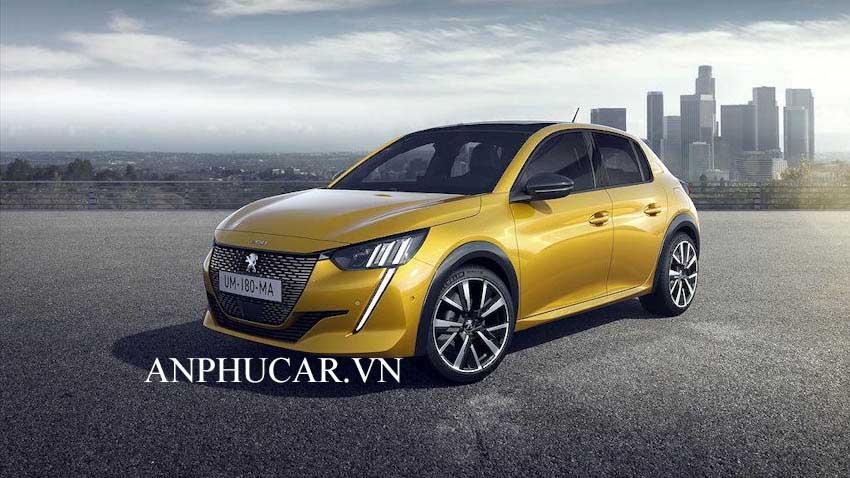 Peugeot 208 2020 giá xe