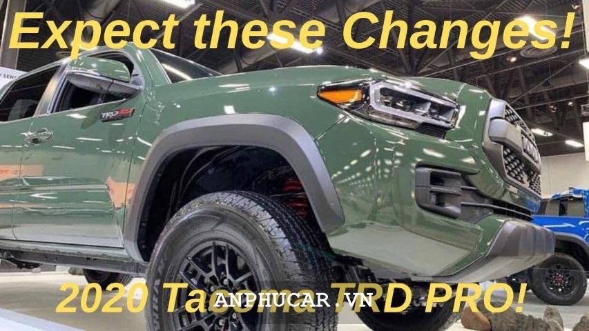 Toyota Tacoma TRD Pro 2020 Dau Xe