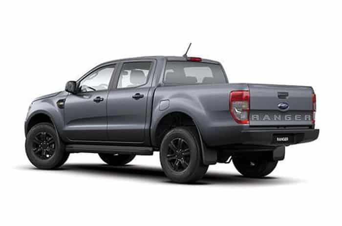 Ford Ranger XLS duoi xe