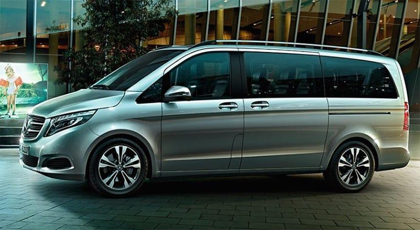 Mecerdes-Benz V250 hong xe
