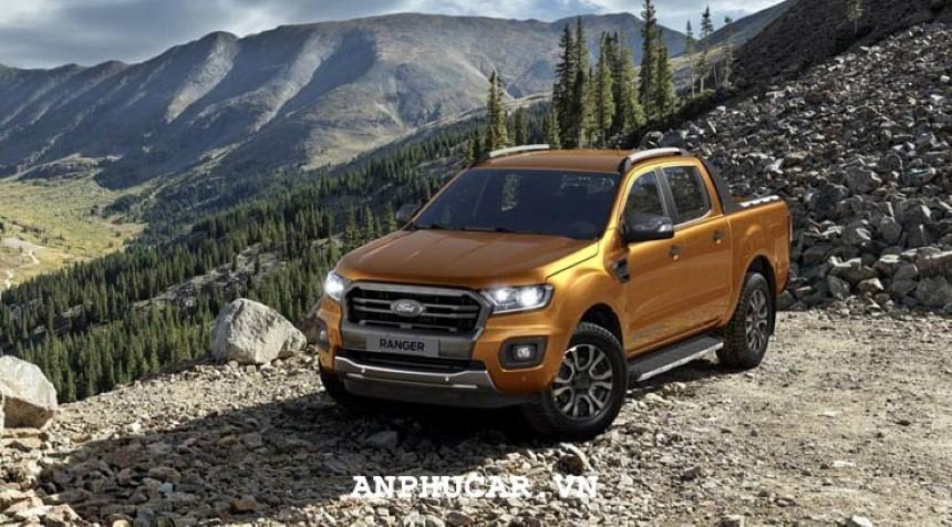 Dau xe Ford Ranger Wildtrak 2.0L 4X2 AT 2020