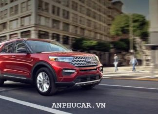 Dau xe Ford Explorer Limited 2020