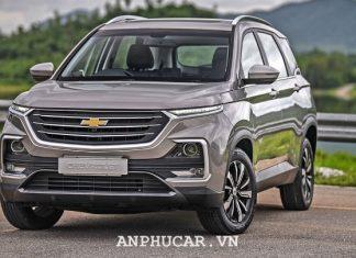 Chevrolet Captiva 2020 danh gia