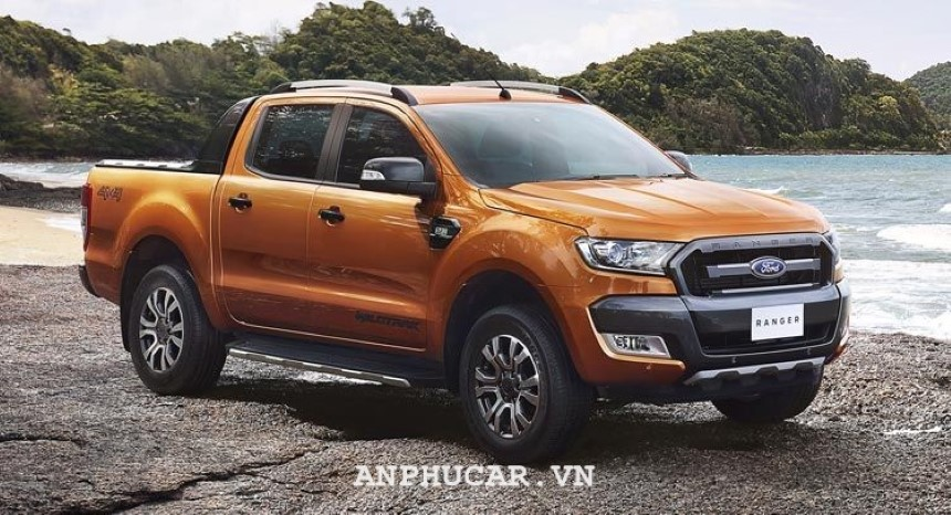 Ford Ranger Wildtrak 2020 thiet ke