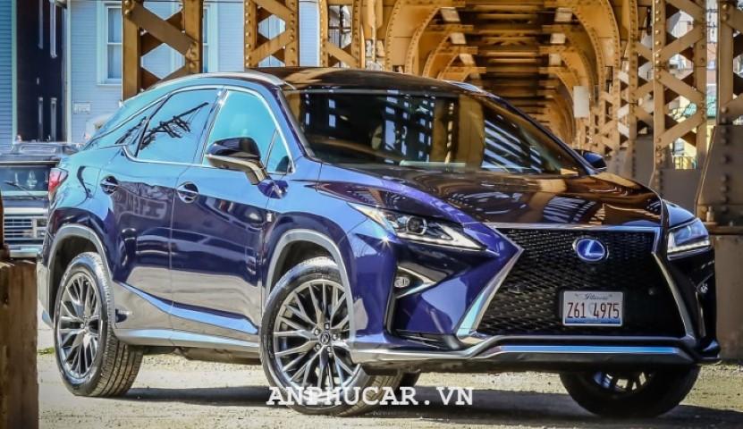 Lexus RX 450h 2020 thiet ke am tuong
