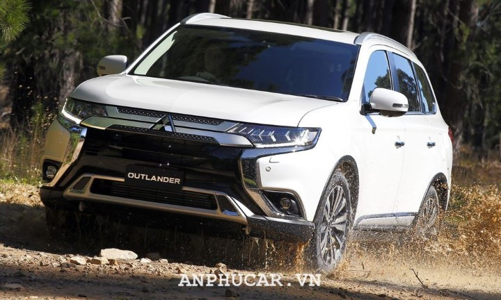Mitsubishi Outlander 2020 thiet ke