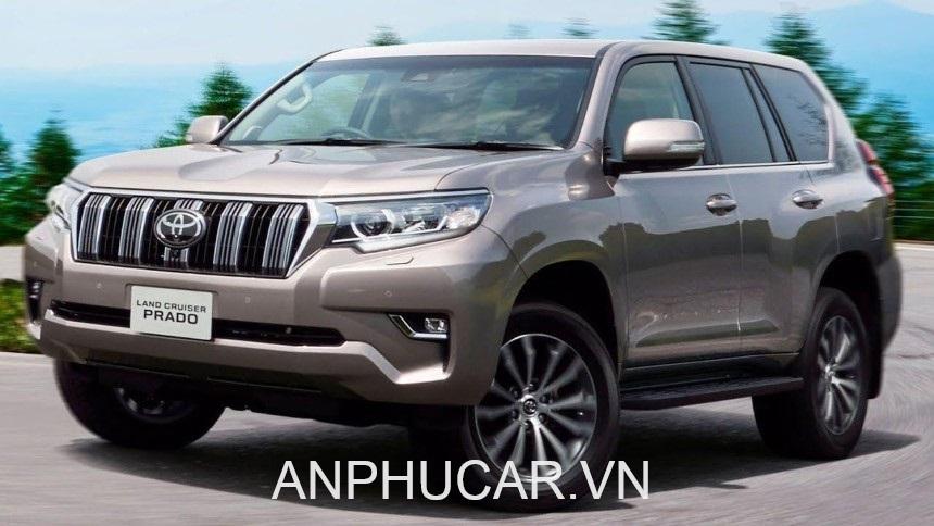 Toyota Land Cruiser Prado 2020 ngoai that