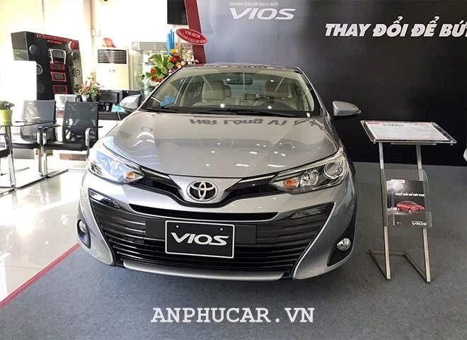 Toyota Vios 1.5G CVT 2020 gia xe