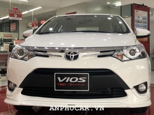 Toyota Vios 1.5G CVT 2020 khuyen mai