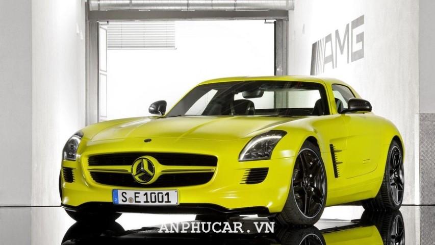 Xe dien dat nhat Mercedes-Benz SLS AMG E-Cell