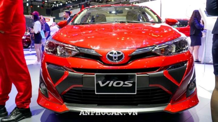 Toyota Vios 2020 khuyen mai