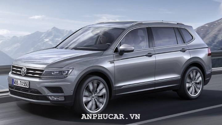 Volkswagen Tiguan Allspace Highline 2020 danh gia