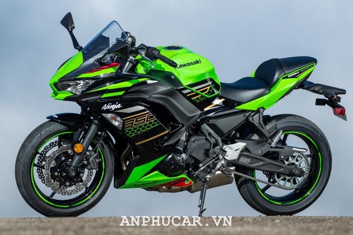 Kawasaki Ninja 650 2020 nang cap hien dai hon
