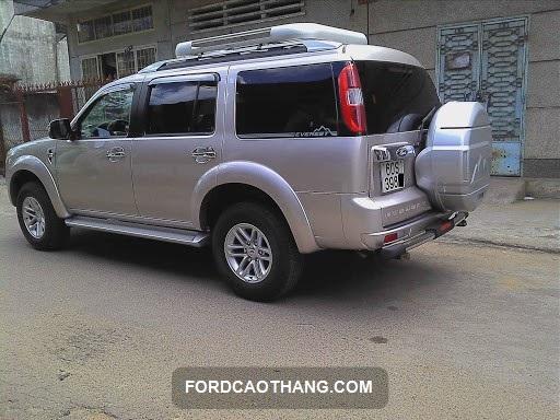 mức tiêu hao nhiên liệu của ford everest